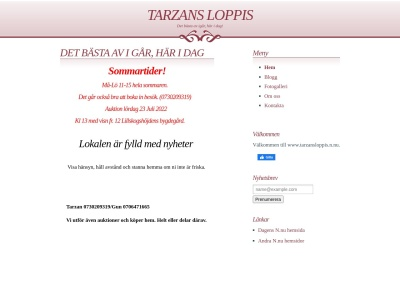 www.tarzansloppis.n.nu