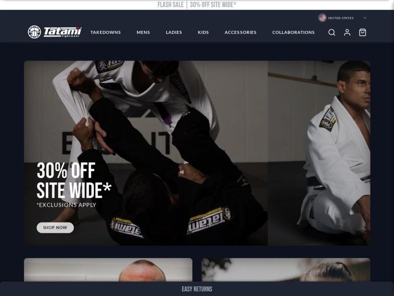 Tatatmi Fightwear screenshot