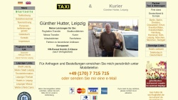 www.taxi-hutter.de Vorschau, Taxibetrieb & Kurierdienst Günther Hutter