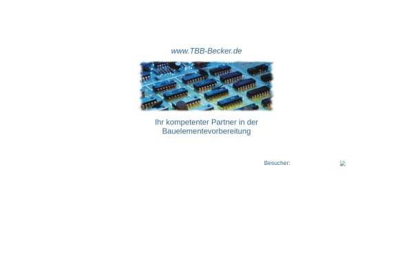 Vorschau von www.tbb-becker.de, TBB-Becker, Inh. Joachim Becker
