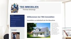 www.tbsimmobilien.eu Vorschau, TBS Thomas B. Schürings Immobilien