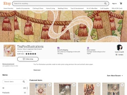 Teafoxillustrations Etsy coupon codes February 2018
