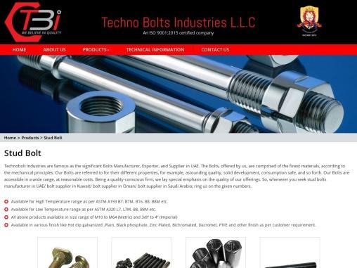 Stud Bolts Manufacturer in UAE