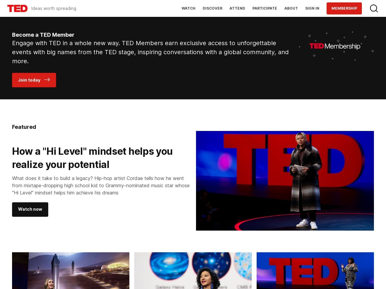 http://www.ted.com