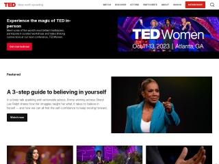 Foto ekrani për ted.com
