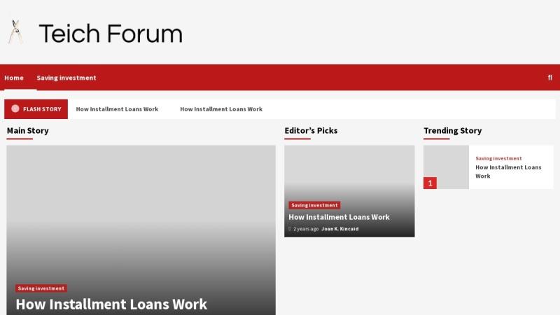 www.teichforum.org Vorschau, Teichforum