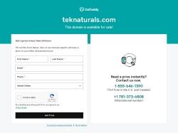 Teknaturals coupon codes December 2017