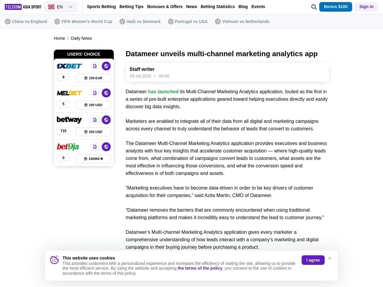 Datameer unveils multi-channel marketing analytics app