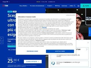 screenshot telecomitalia.it