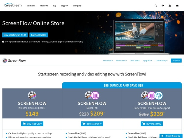 ScreenFlow  - 10 Best Screen Recorders For Mac 2020