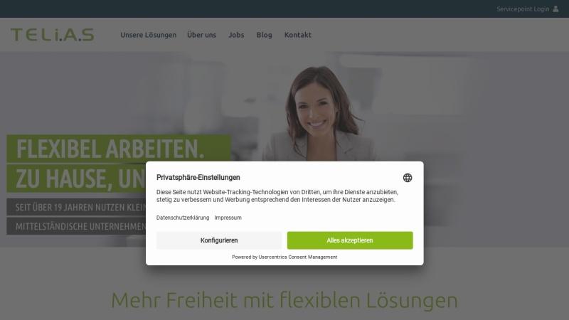 www.telias.de Vorschau, TELiAS GmbH & Co. KG