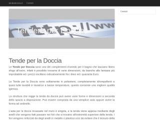 screenshot tendedoccia.it