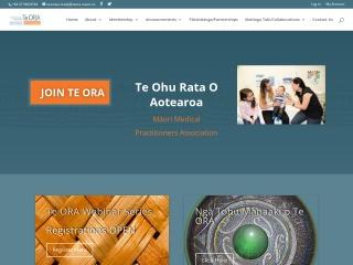 Screenshot for teora.maori.nz