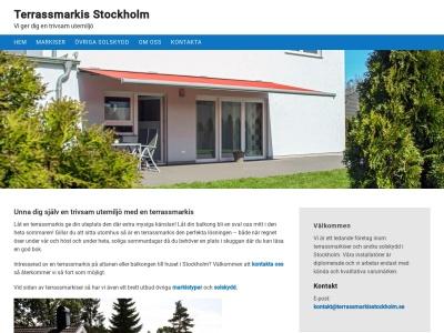 www.terrassmarkisstockholm.se