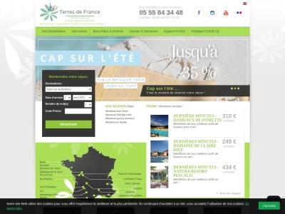 Terres de France - Hôtels & Résidences au vert