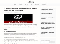 11 Upcoming Must-Attend Conferences for Web Designers and Developers