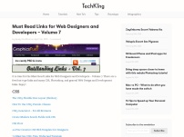 Must Read Links for Web Designers and Developers – Volume 7