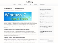 20 Windows 7 Tips and Tricks