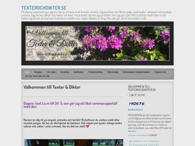 www.texterochdikter.se