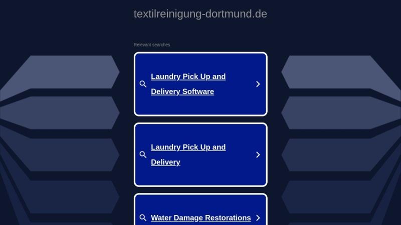 www.textilreinigung-dortmund.de Vorschau, Adrett Textilreinigung