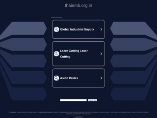 Screenshot for thaiemb.org.in
