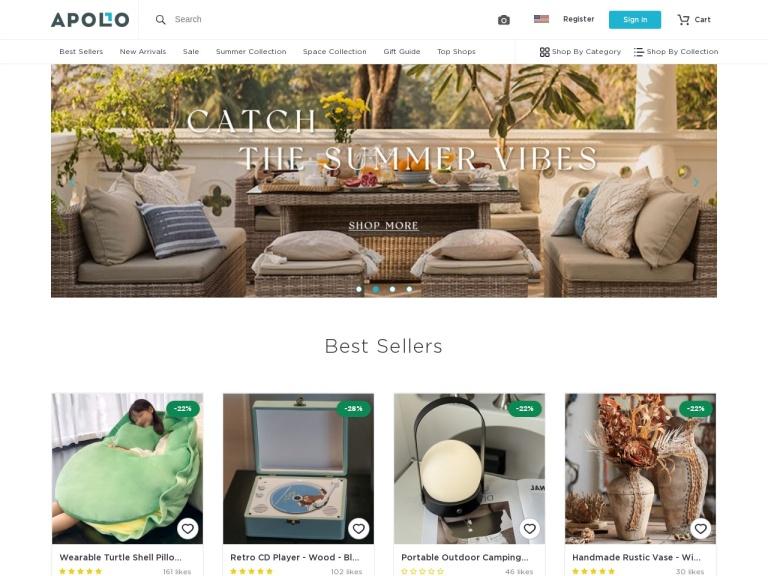 Apollo Box-Earth Day Sale 30% OFF site wide