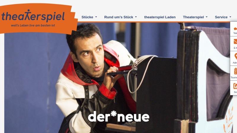 www.theater-spiel.de Vorschau, Theaterspiel Beate Albrecht
