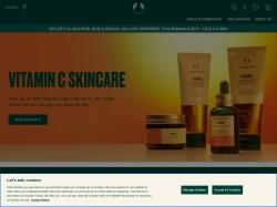 The Body Shop Canada screenshot