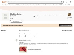 Thefiberfriend Etsy coupon codes January 2019