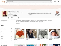 Thefreckledpurl Etsy coupon codes August 2018