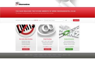Screenshot for thegrandhotel.co.nz