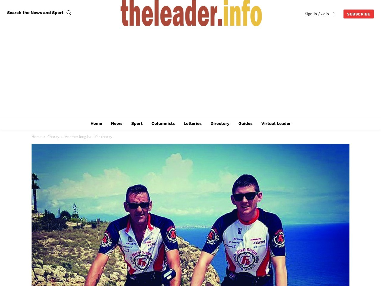 Another long haul for charity