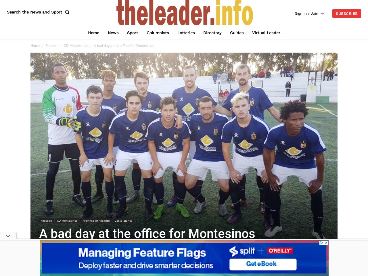 A bad day at the office for Montesinos