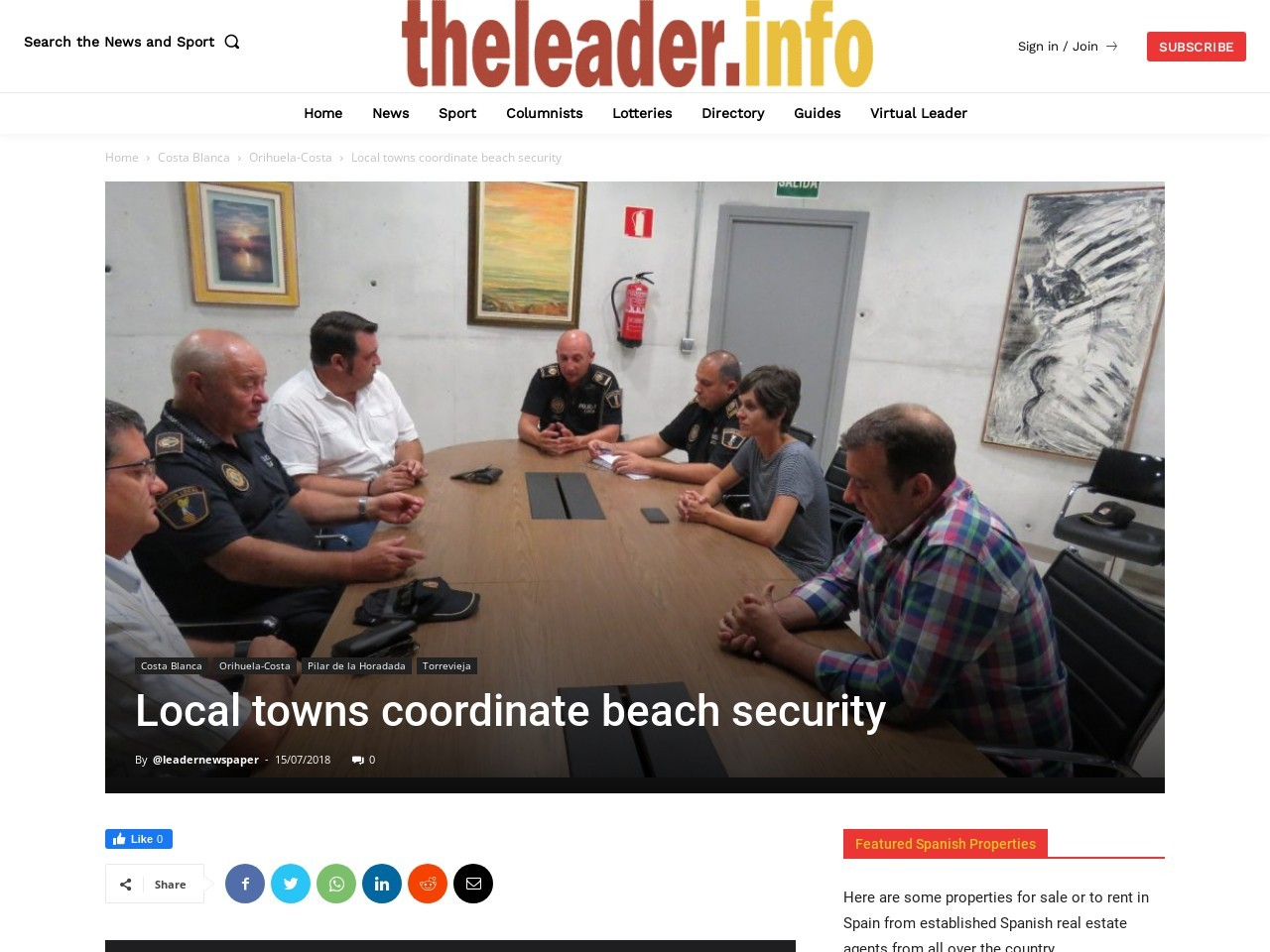 Local towns coordinate beach security
