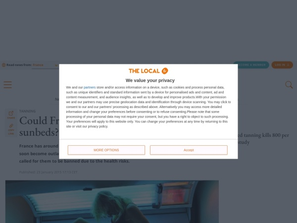 http://www.thelocal.fr/20150123/france-be-the-next-to-ban-sun-beds