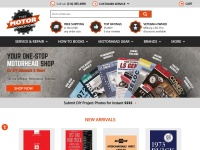 Motor Bookstore Coupon Codes & Discounts
