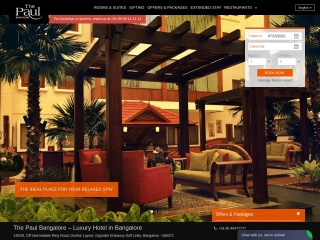 Screenshot for thepaulbangalore.in