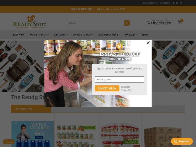 The Ready Store screenshot