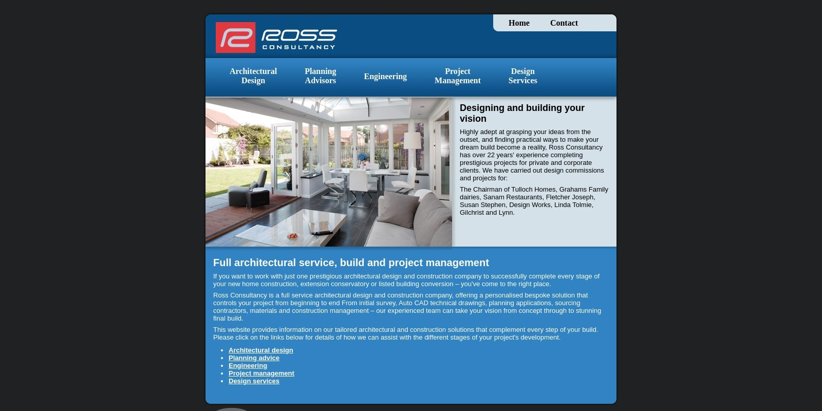 Preview of http://www.therossconsultancy.com/