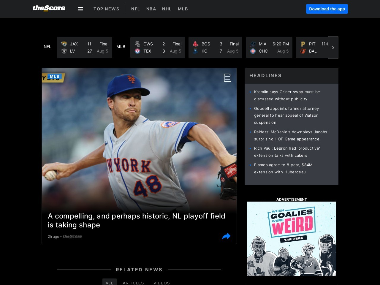 MLB reaches agreement to stream games in China