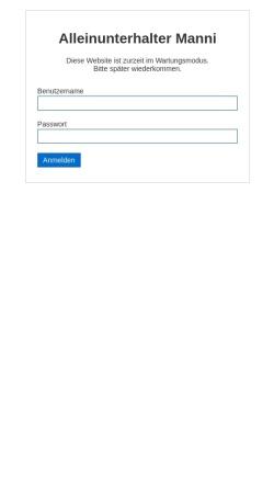 Vorschau der mobilen Webseite www.theuermann.de, Manni