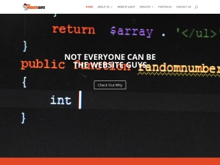 Screenshot for thewebsiteguys.co.nz
