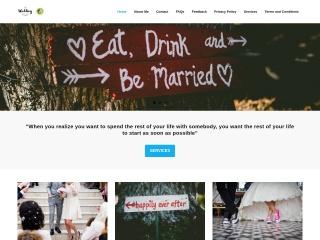 Screenshot for theweddingcelebrant.co.nz