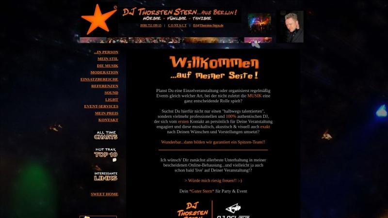 www.thorsten-stern.de Vorschau, DJ Thorsten Stern