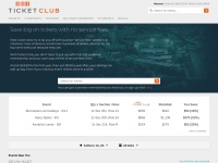 Ticket Club Coupon Codes & Discounts