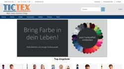 www.tictex.com Vorschau, TicTex, CMB Trading GmbH