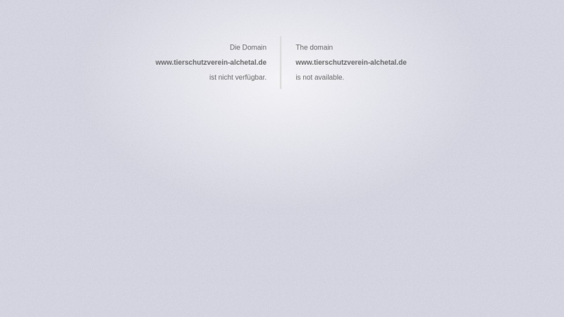 www.tierschutzverein-alchetal.de Vorschau, Tierschutzverein Alchetal e.V.