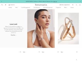 Captura de pantalla para tiffany.com