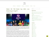 Watch ICC T20 World Cup 2021 Live Streaming on YuppTV