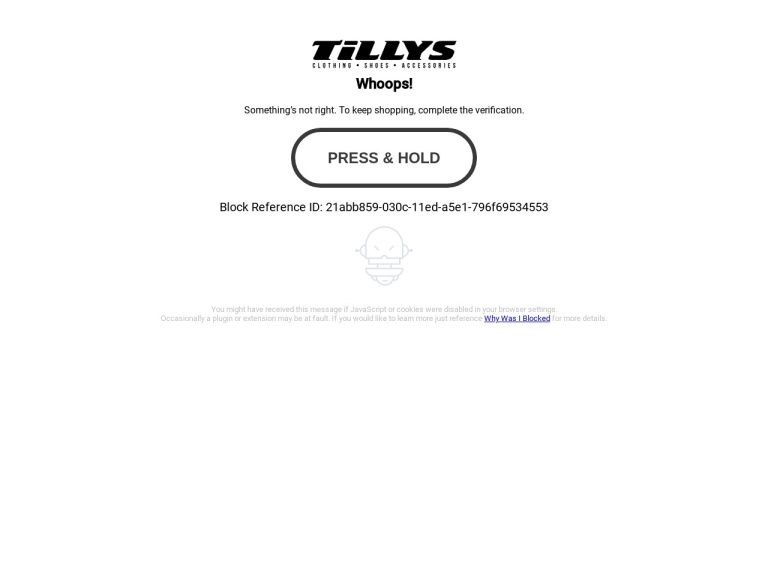 Tillys screenshot